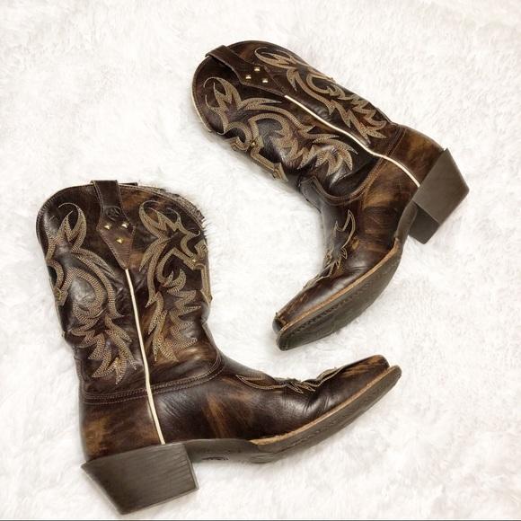 75490a0b069 Ariat Legend Spirit Womens Cowboy Boots 9B